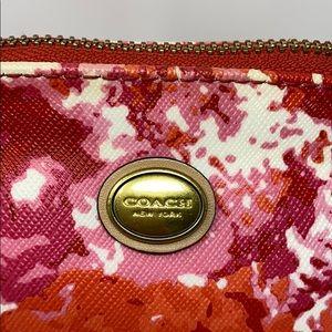Coach Bags - Coach Peyton Pink Red Multi F31341 Domed Handbag